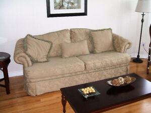 Sofa and 2 chairs.Sofa $275.00,chairs $75.00 each.