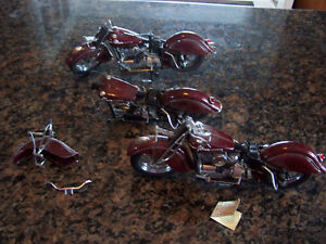 FRANKLIN MINT 1942 INDIAN MOTORCYCLE (parts only)