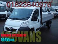 PEUGEOT BOXER 2.2HDi 130 335 L3 DROPSIDE LWB F/S/H SAME DAY FINANCE CALL NOW