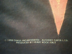 1998 Alchemy Gothic Chaos Incarcerated Fabric Poster Tapestry Prince George British Columbia image 3