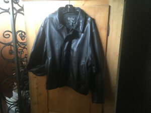 Eddie Bauer Men's Leather Jacket