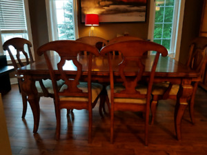 Dining room set (table/chairs/buffet)