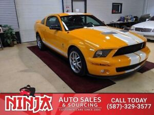 2007 Ford Mustang Shelby GT500  Supercharged 6 Speed Low Km