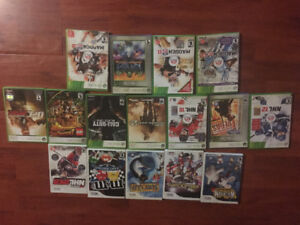 Retro Xbox and wii games