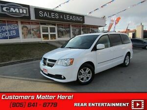 2015 Dodge Grand Caravan Crew   NAVIGATION, SUNROOF, DVD, LEATHE