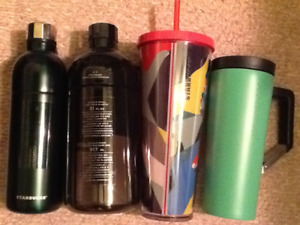 Starbucks new water bottles and tumblers