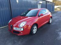 Alfa Romeo Mito low mileage!! Open to sensible offers!