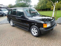 1997 P Reg Land Rover Range Rover 2.5 auto DT P38 Stunning !!