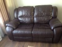 Sofas leather recling