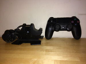 PS4 Playstation 4 Controller And Dual Charger Docking Station