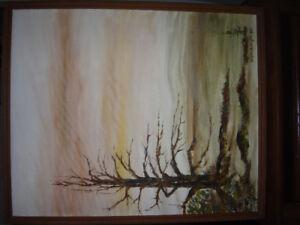 Tableaux de l'artiste-peintre Réginald Dupuis