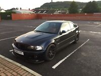 2003 BMW E46 M3 Schwartz black