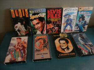 Elvis Presley Movies VHS Lot of 9 Excellent Condition