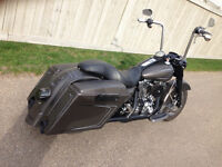 07 Custom Road King Bagger
