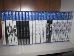 PS4 - Selection - Games and Accessories - $8 & up -New, See List