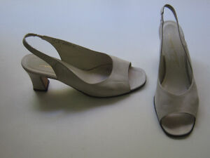 Thomas Wallace beige genuine leather shoes