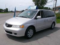 2002 Honda Odyssey 2500$