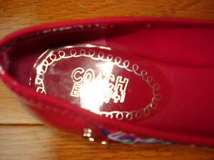 Size 7 Coach flats NEVER WORN London Ontario image 3