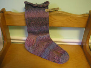 HAND KNIT LADIES' SOCKS