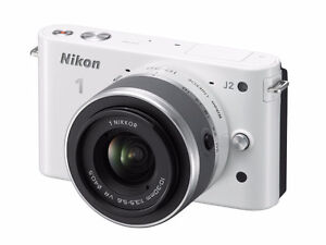 Nikon1 J1 Mirrorless Digital Camera with 10-30mm VR Zoom