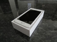 New iPhone 6Plus 64GB White with Bell (3 Days Old)