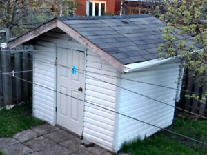 Wooden Garden/Storage Shed for pickup in mississauga