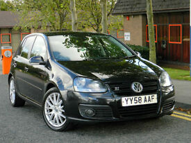 2008 58 Volkswagen Golf 2.0 TDI GT Sport 5dr 1 Owner From New+FSH+LEATHER