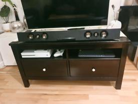 Black unit, TV unit, storage unit