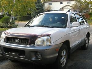 2004 Hyundai Santa Fe leather SUV, Crossover