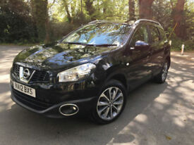 £207.18 PER MONTH 2012 NISSAN QASHQAI+2 1.6dCi 7 SEATS MANUAL DIESEL