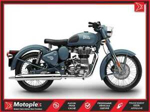 2019 Royal Enfield Classic 500 Squadron Blue