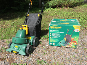 Blower/Vac for leaves, Yardworks, Electric