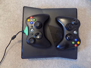 XBox 360 console and seven games