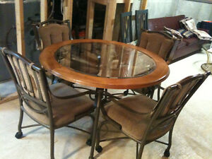 Wrought Iron Wood Buy Or Sell Dining Table Amp Sets In