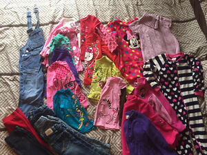 Girls size 3 winter clothes