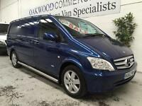 2012 62 Mercedes-Benz Vito Long 116CDI Sport Van with heated seat and A/C
