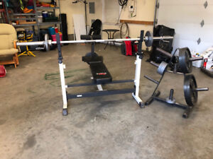 York barbell set