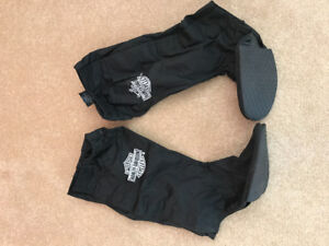 Wet weather Harley Davidson boot covers.