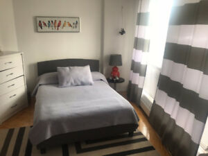 Full size bed with mattress for sale