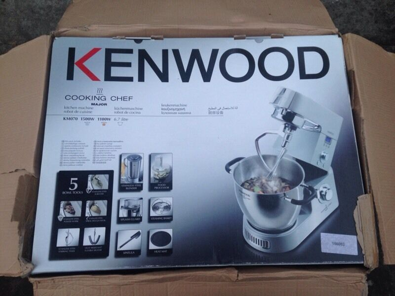 Kenwood cooking chef brand new boxed. KM070