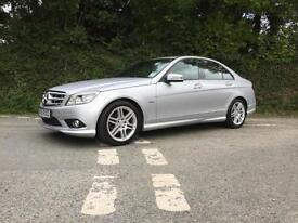2009 59 MERCEDES BENZ C250 CDI SPORT BLUE EFFICIENCY 1 OWNER FROM NEW