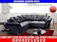 Brand New Shannon Corner sofa Bruce
