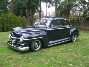 1947 Plymouth Special Deluxe 5 Window Coupe