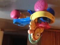 Fisher price - Ride On & Learn to walk car
