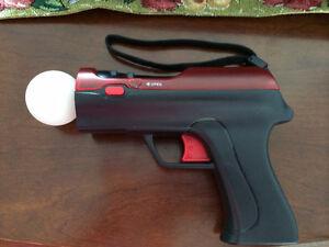 Sony PS3 Light gun shooter pistol move motion controller