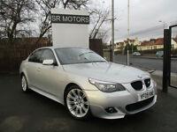 2009 BMW 520 2.0TD auto M Sport(sat/nav,leather,history)