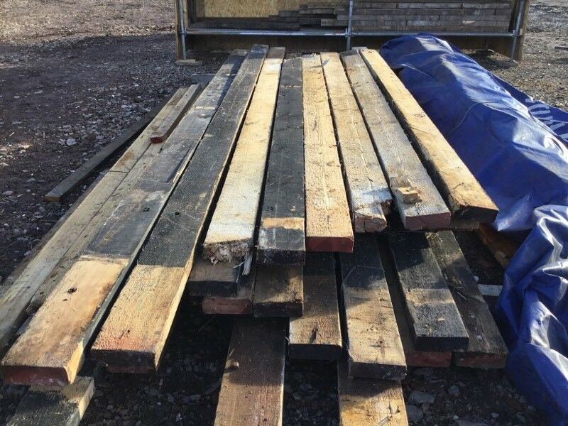 Timber Pitch Pine Yellow Pine Joists In Skelmersdale