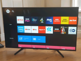 Sony 49 inch 4k Ultra HD HDR LED Smart TV excellent condition