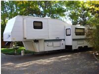 1995 Double Slide Fifth Wheel  33.5 ft Terry Trailer For Sale