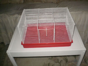 NEARLY NEW, MY FIRST HOME HAMSTER SPACIOUS CAGE